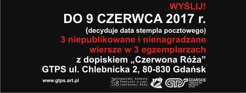 58 Edycja Ogólnopolskiego Konkursu O Laur Czerwonej Róży